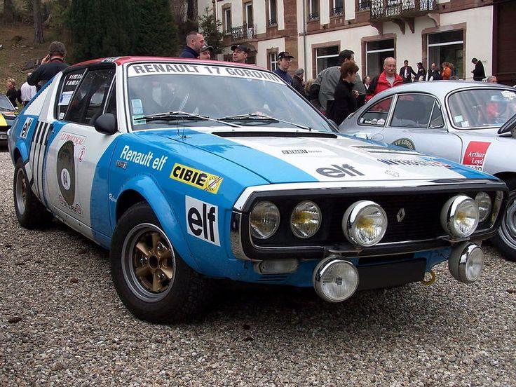 Renault 17 Gordini Rally