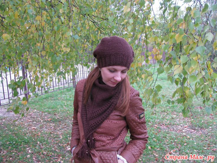"Осенний комплект ""Молочный шоколад"" (много фото)"