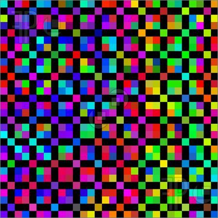 Bright Patterns | Bright Colored Cubes Pattern ... Bright Colourful Patterns