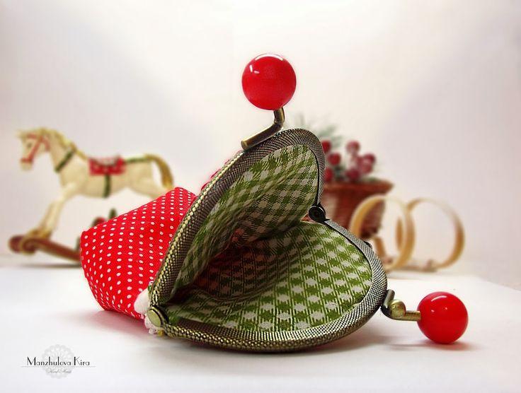 """Дом маленькой Феечки: Кошелёк """"Пирожное""""/ Purse """"""""Cupcake"""""""