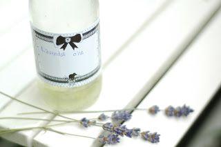 Stadshippie: Makkelijk zelf maken: lavendel olie
