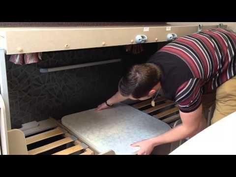 How to build caravan bunk beds - YouTube How2Caravan youtube