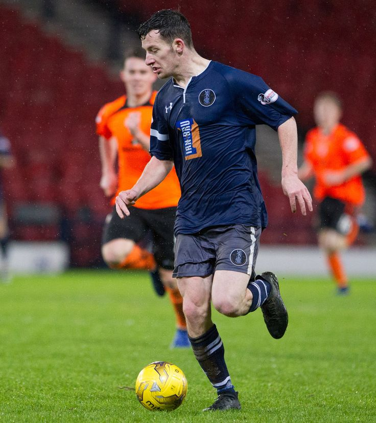 Queen's Park's David Galt in action during the Ladbrokes League One game between Queen's Park and Stranraer.