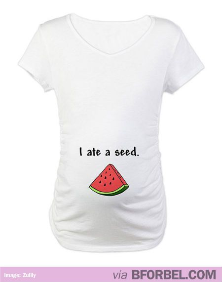 Seriously love this pregnancy t shirt although i m far for Funny cute maternity shirts
