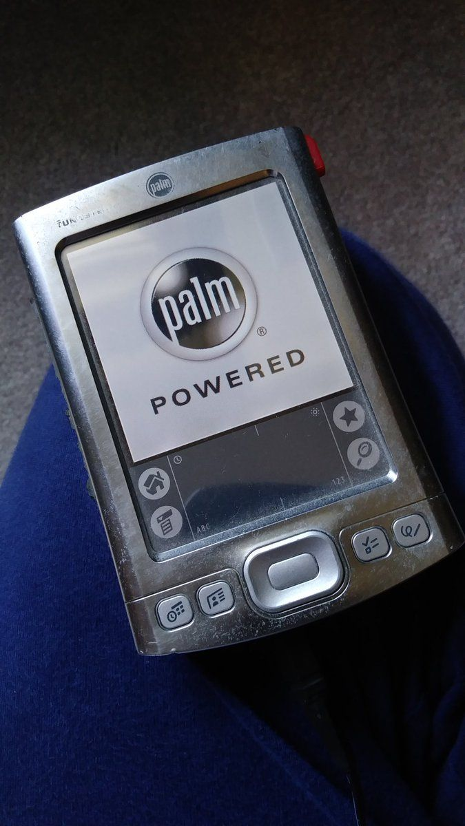 Before smartphones there were Palm Pilots. Back in middle school this little hardware is how I kept schedules and took notes. You could even play Snake on it!