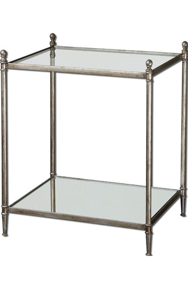 'Gannon' Antiqued End Table