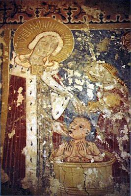 Árpádházi+Szt+Erzsébet+Nagygalambfalva+ref.+t.+gótikus+freskó.jpg (267×400)