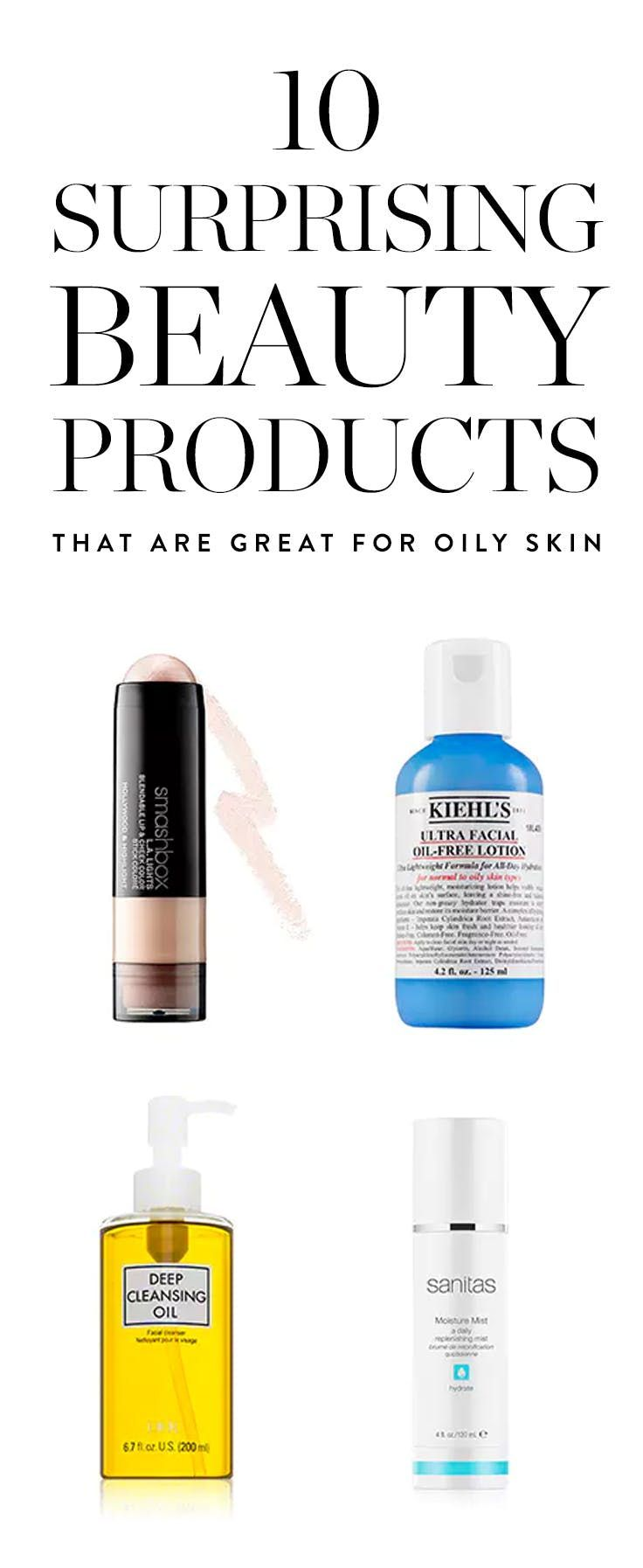 Beauty Products Women with Oily Skin Shouldn't Be Afraid to Use #purewow  #shoppable #skincare #beauty #WomensSkinCareBeautySecrets
