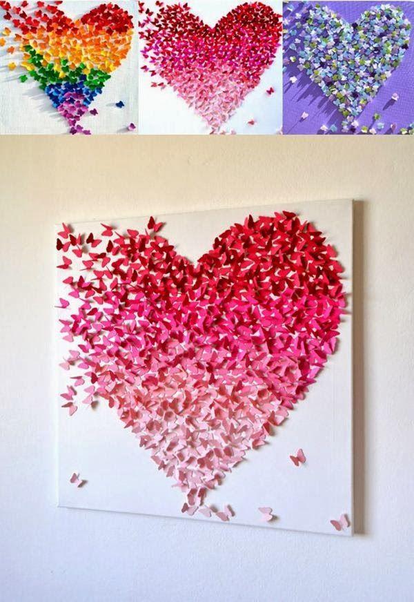 Coração de borboletas