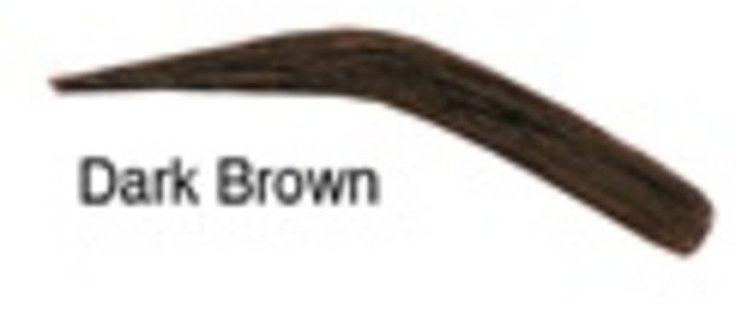 NUBROW FALSE EYEBROWS DARK BROWN 00102