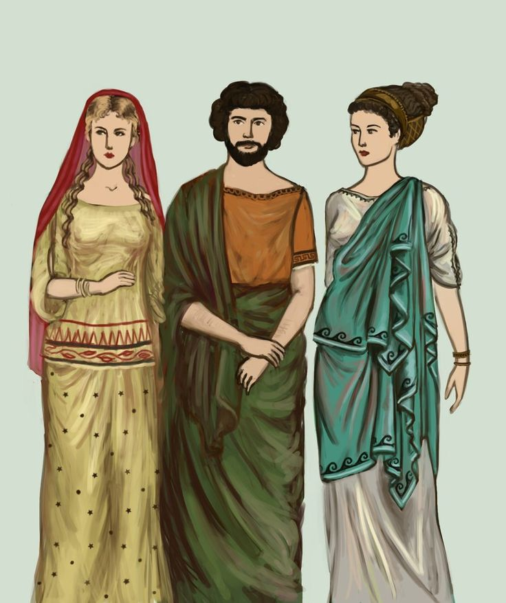 Ancient Greek Clothing: Classical Greece By Tadarida In Classical Period (5th
