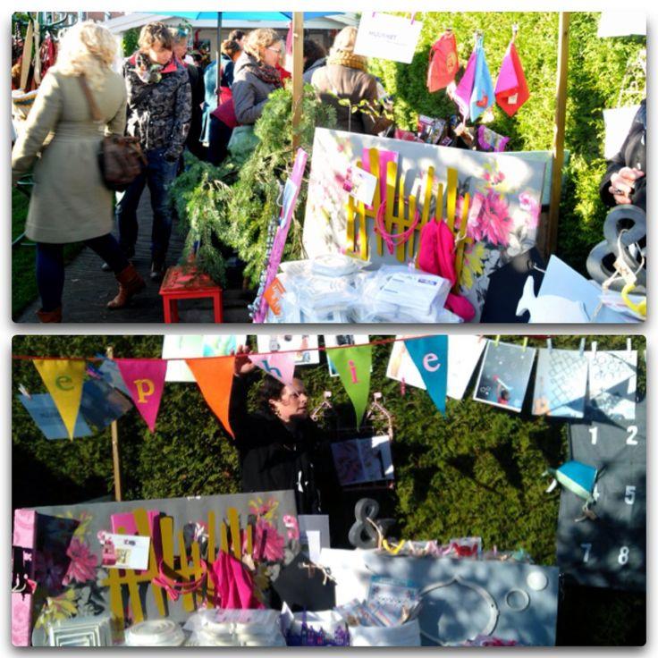 De Bonte wintermarkt 2013. Een groot succes! Een zeer geslaagde dag!