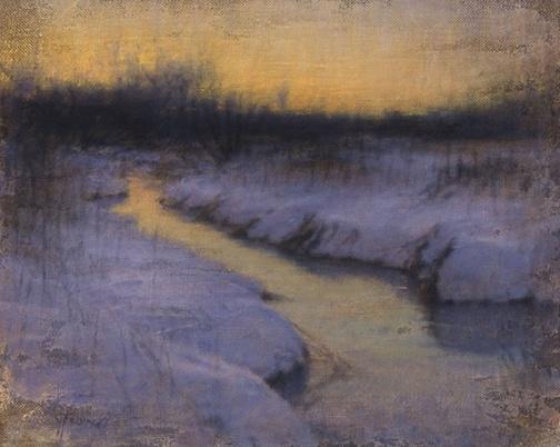 Love this tonalist painting by John Felsing