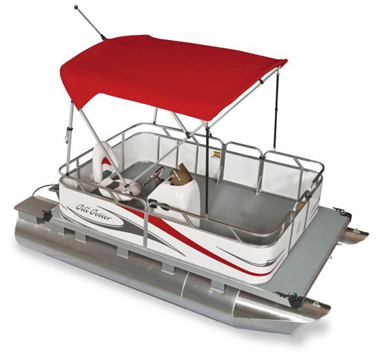 Mini pontoon boat gillgetter pontoons mini compact or for Mini fishing boats
