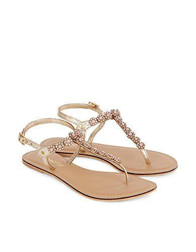 Accessorize Damen Amelie Sandalen mit Steinen - http://on-line-kaufen.de/accessorize/accessorize-damen-amelie-sandalen-mit-steinen