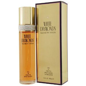 Mother's Day Gift: White Diamonds By Elizabeth Taylor For Women, Eau De Toilette Spray, 3.3-Ounce
