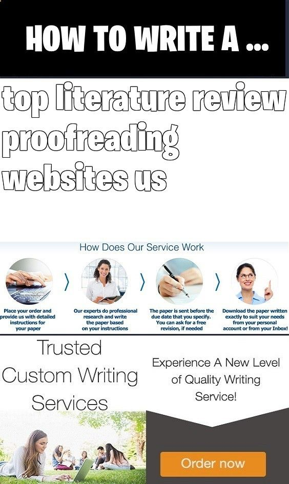 custom literature review proofreading website usa