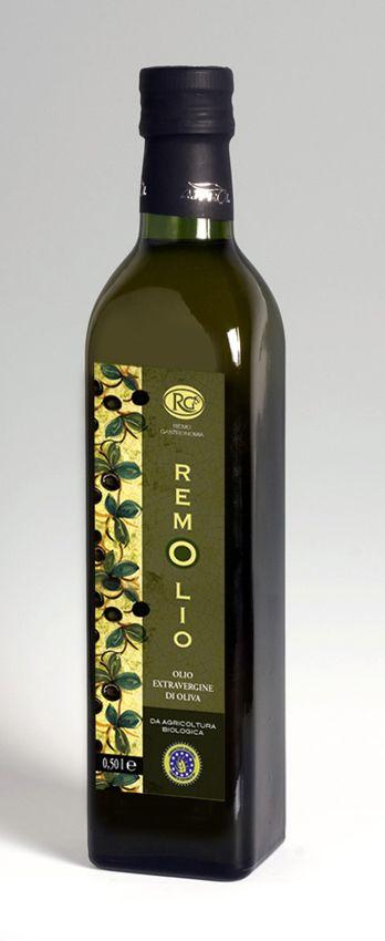 Design Etichetta Olio - Remo Gastronomia