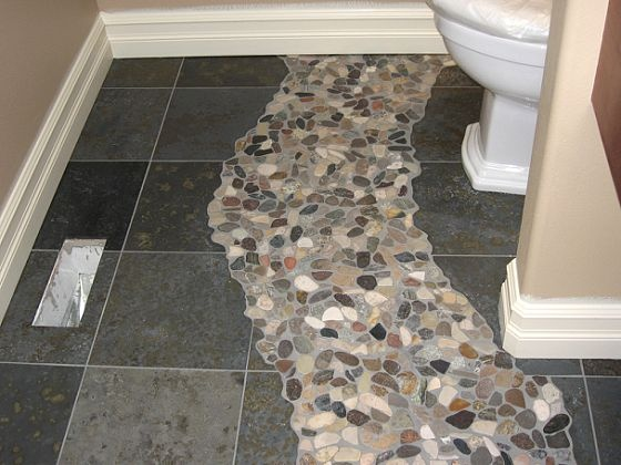17 Best Images About Bathroom Floor On Pinterest