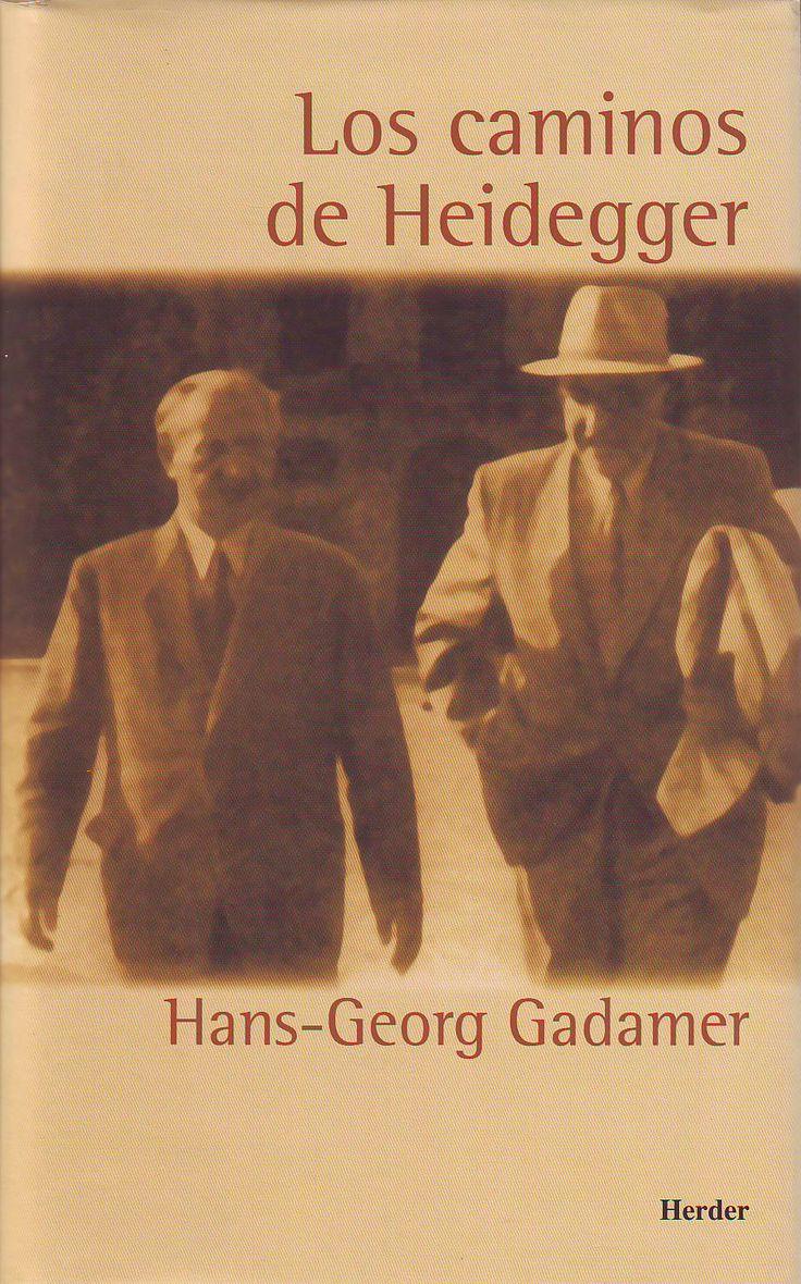 Ensayos de Gadamer sobre Heidegger.