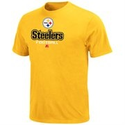 Pittsburgh Steelers Critical Victory V T-Shirt - Gold