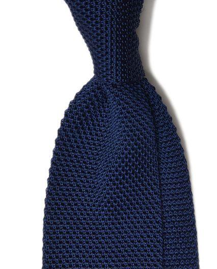 TM Lewin knitted navy tie