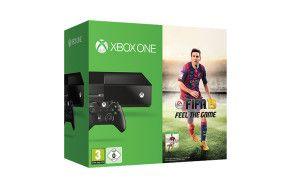 Die Xbox One   FIFA 15 Bundle umfassen eine Xbox One-Konsole und Controller sowie das komplette FIFA 15-Spiel als Download.