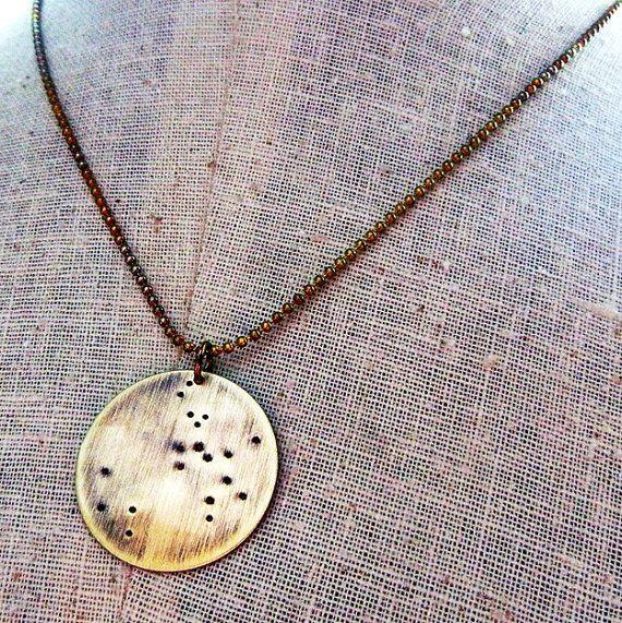 Sagittario collana  gioielli della di eriadesignsjewelry su Etsy