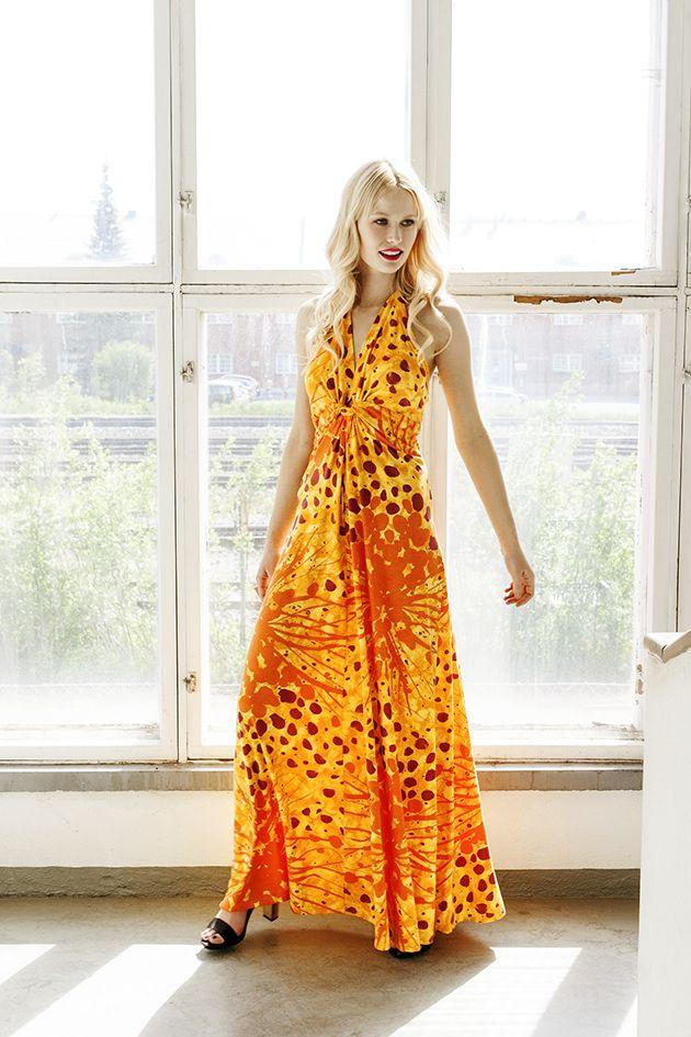 Tropical dress - Nanso by Katri Niskanen S/S 14