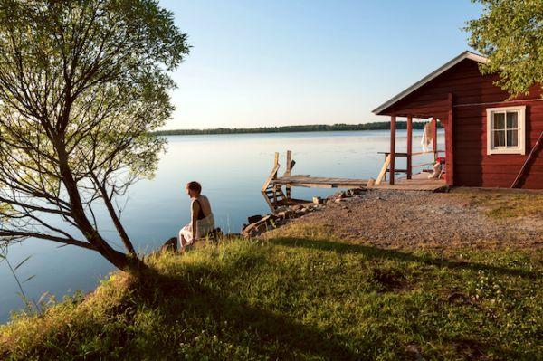 Cottage, Finlande