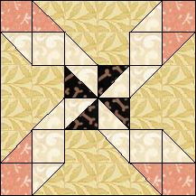 Clay's Choice from   Quilt Pro Block-of-the-Day   April 18, 2013