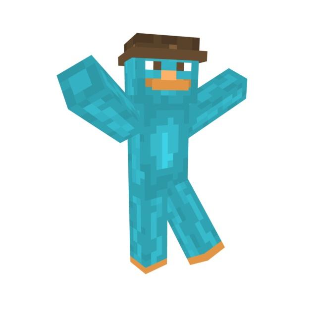 Agent P Minecraft Skin!