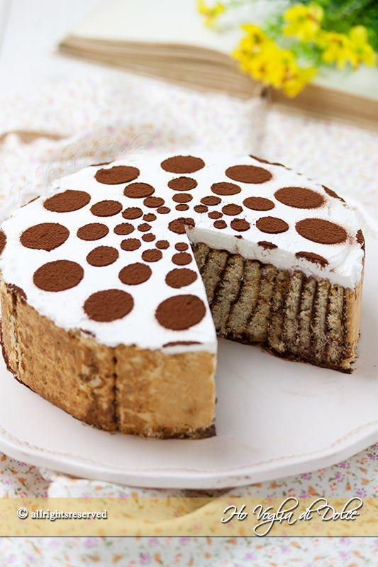 torta di biscotti e budino ricetta veloce