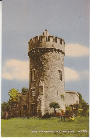 Valentines Postcard -The Observatory, Bristol - H 3630