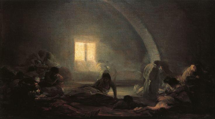 Francisco Goya - Plague Hospital, 1800.