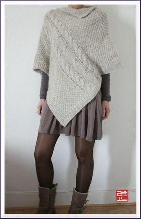 poncho tricot - Pesquisa Google