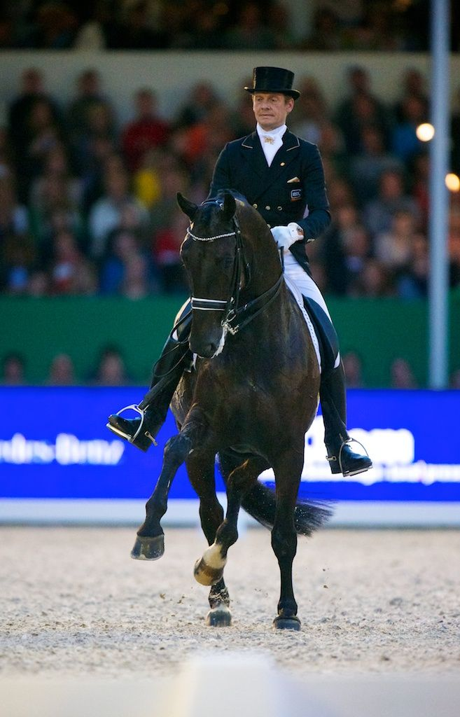 Netherlands' Dressage Team member Edward Gal and Glock's Undercover