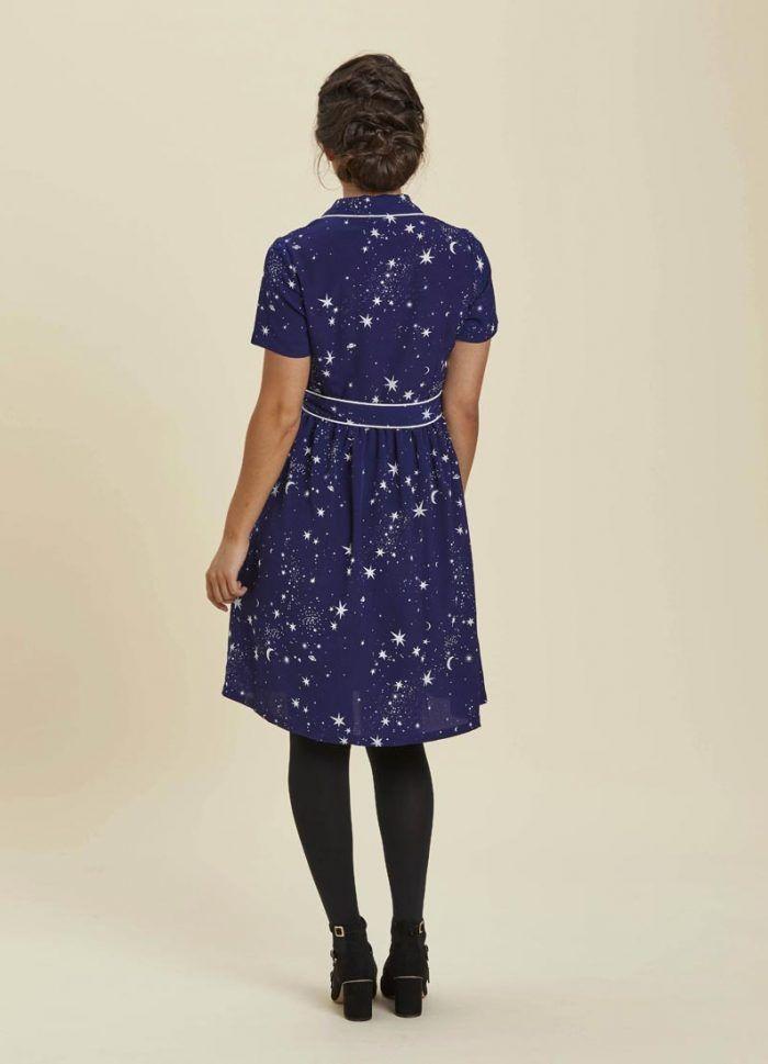 a2ca43b7f96 Karlie Starry Night Shirt Dress
