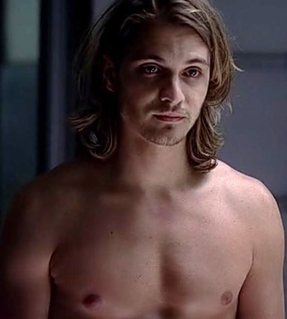 "Luke Grimes - love the ""hippie"" vampire..."