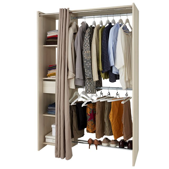 1000 id es propos de dressing avec rideau sur pinterest d coration de salle de bains d for Dressing avec rideau
