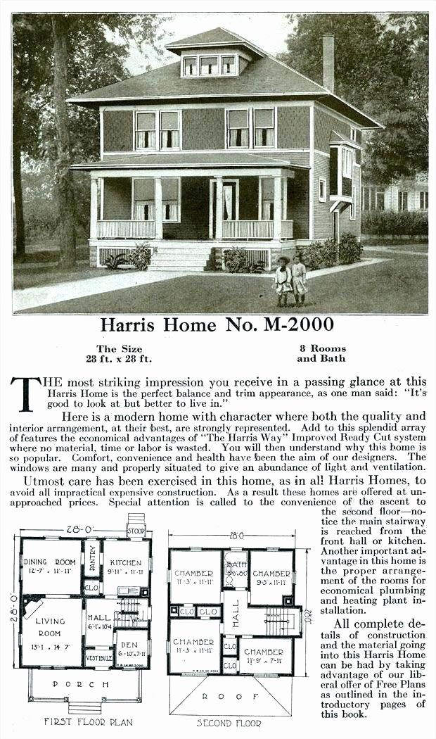 Modern American Foursquare House Plans Awesome 4 Square House Gulfstu Sfo Square House Plans Four Square Homes Vintage House Plans