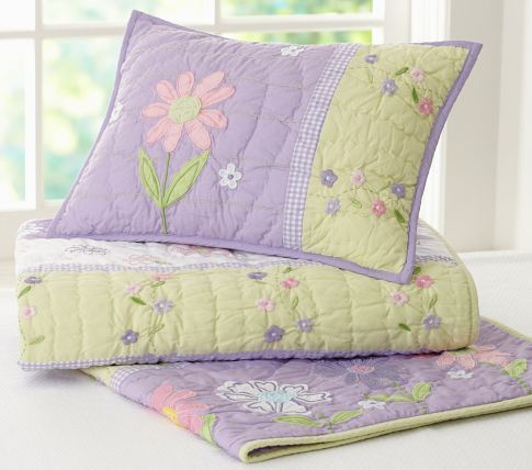 Daisy Garden Toddler Bedding | Pottery Barn Kids