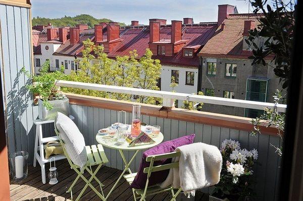 Balcony Furniture For Small Balcony – 50 Ideas - Decor10