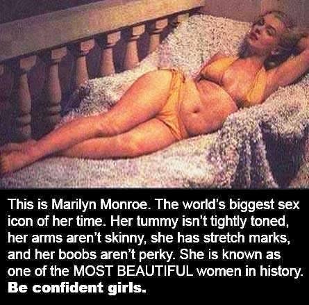 Marilyn Monroe and beauty