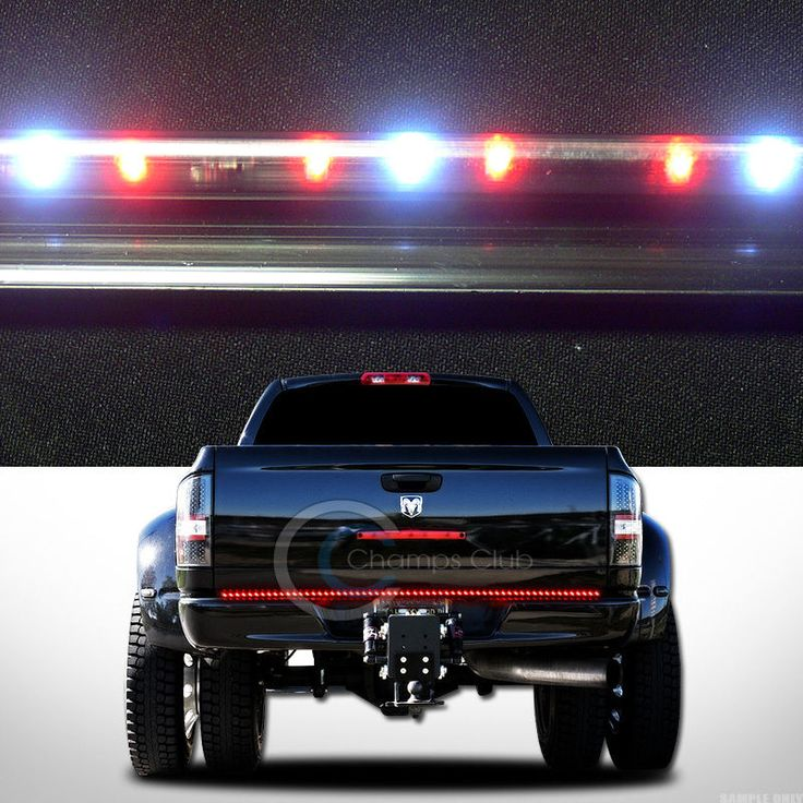 led strip tailgate tail light bar chevy pickup truck chevy led and. Black Bedroom Furniture Sets. Home Design Ideas