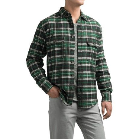 Woolrich Tall Pines Heavyweight Flannel Shirt (For Men)