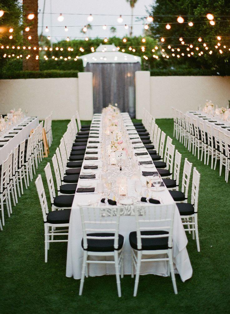 Garden Party wedding - Style me pretty
