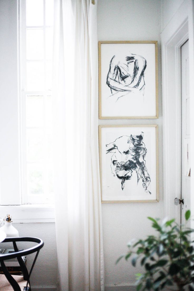 Update your home decor with a pair of wall art prints from Minted.