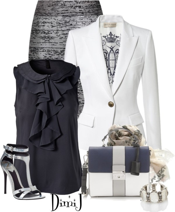 """""""The High Powered Business Meeting"""" by dimij on Polyvore"""