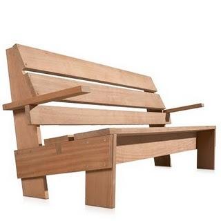 Rietveld garden bench, how to